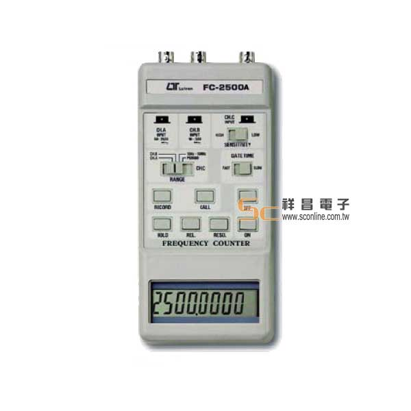 FC-2500A 掌上型計頻器