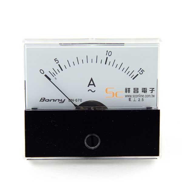 AC15A 錶頭