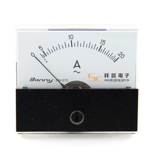 AC20A 錶頭