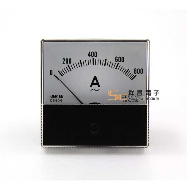 DC800A/5A錶頭