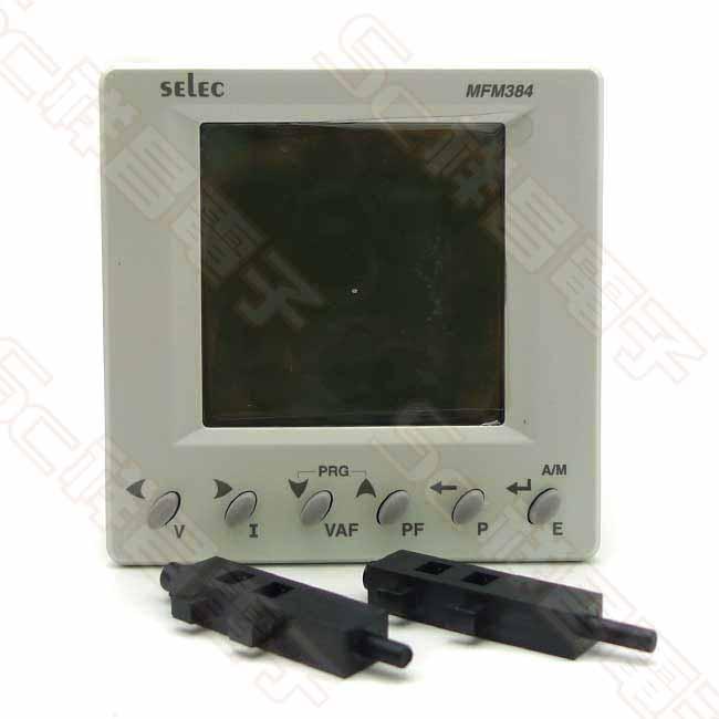 SELEC MFM 384-C-CU-G 電表錶頭 多功能電錶