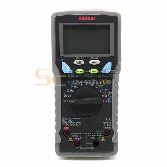 日本 SANWA PC7000 數字型萬用表