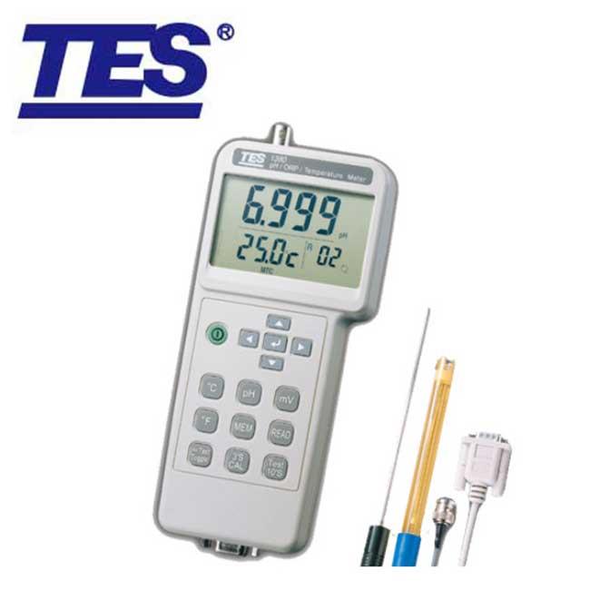 TES-1380K酸鹼度測試計(含附件)