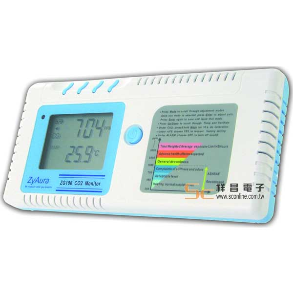 ZG-106 CO2二氧化碳計