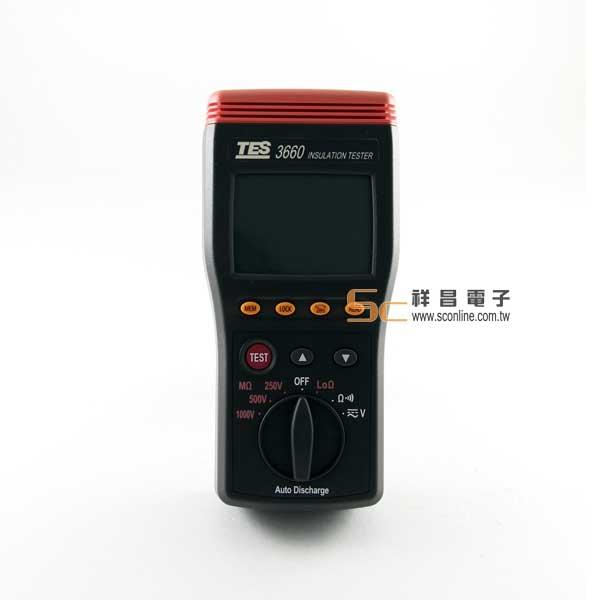 TES-3660自動換檔絕緣測試計