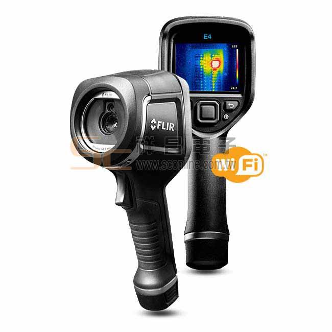 FLIR 熱影像儀 搭載 WIFI 紅外線熱影像儀 E4
