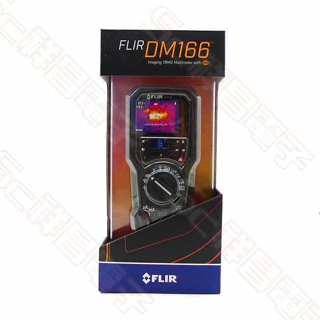 FLIR DM166 紅外線熱影像儀 真有效值數位萬用表