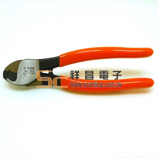 (日製) FUJIYA 日本富士箭 電纜剪 GCC-200 剪電纜專用工具