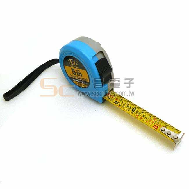Sen Ye BS-002 5m/19mm 捲尺/卷尺 黃底 (文公尺)