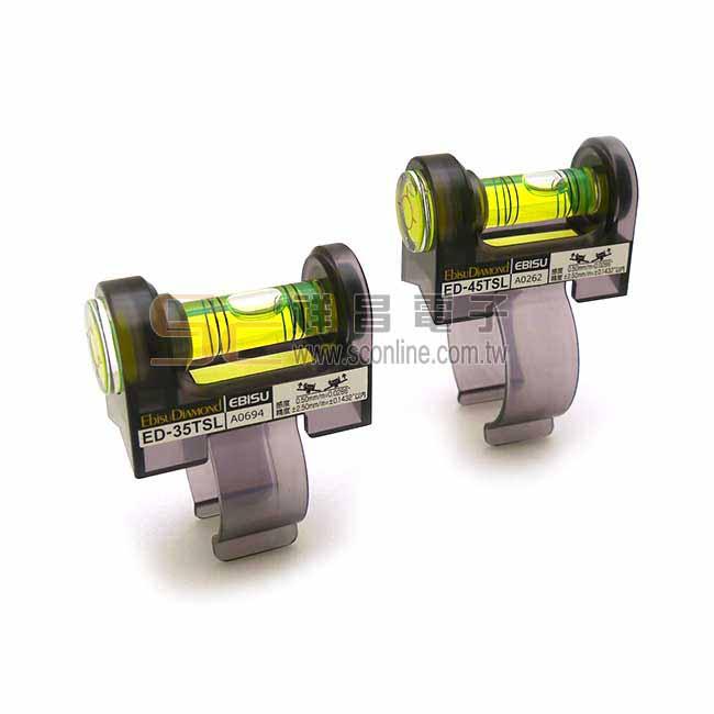 日製 EBISU DIAMOND 水平尺 扶手握把專用水平尺 ED-45TSL