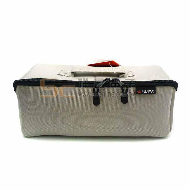 Fujiya日本富士箭 河馬大開口工具袋 尼龍布製 工具袋 手提袋 (灰色 大) FTC2-LIG