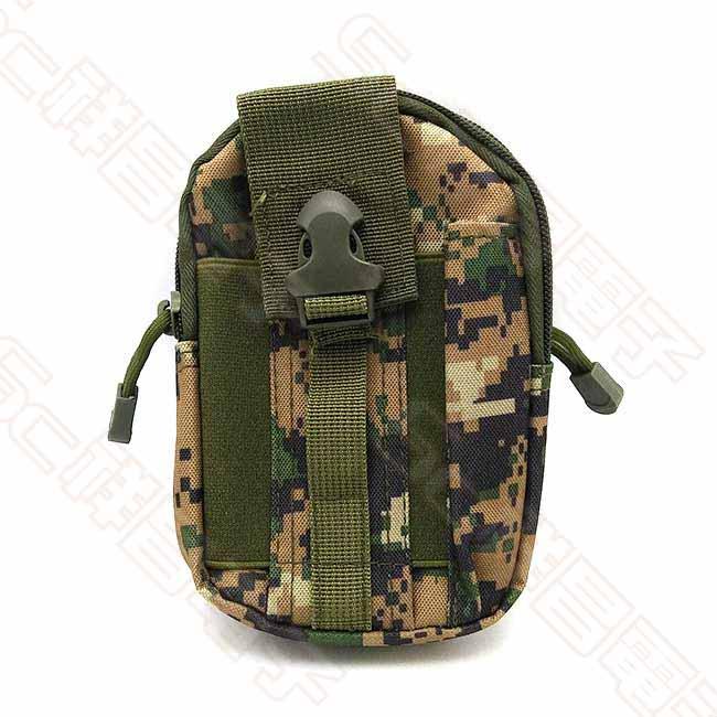 610-011 數位迷彩工作包 迷彩腰包 運動腰包 迷彩包 戰術腰包