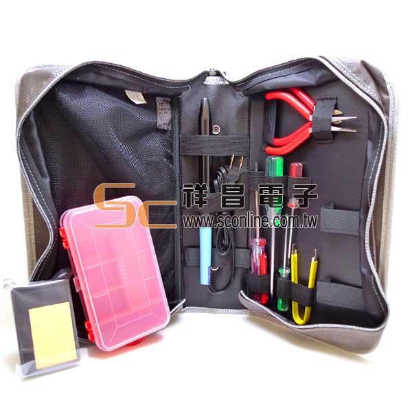 K6 工具包含工具 P7 8件式 (墨綠色)