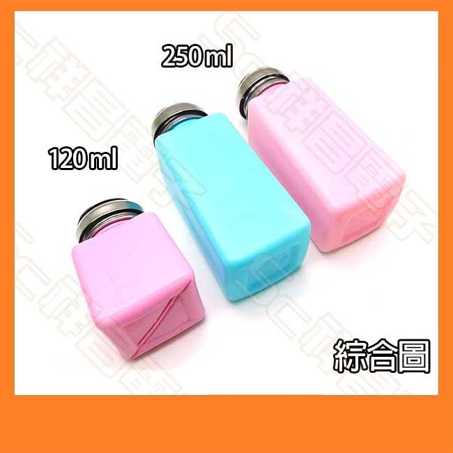 防靜電溶劑瓶 200ml(粉紅)