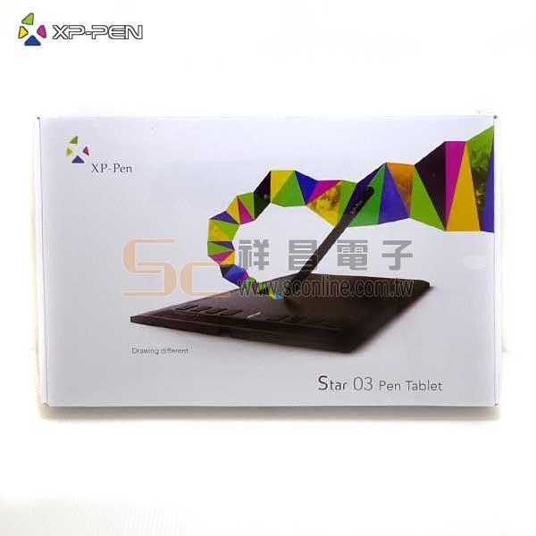 日本 XP-Pen Star 03 繪圖畫板 (黑色款)