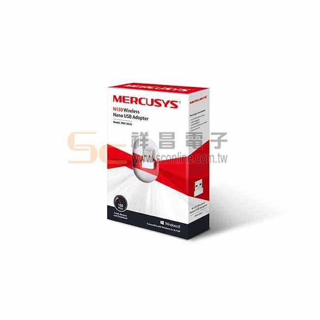 Mercusys 水星網路 無線微型 迷你USB網卡 USB無線網卡 MW150US