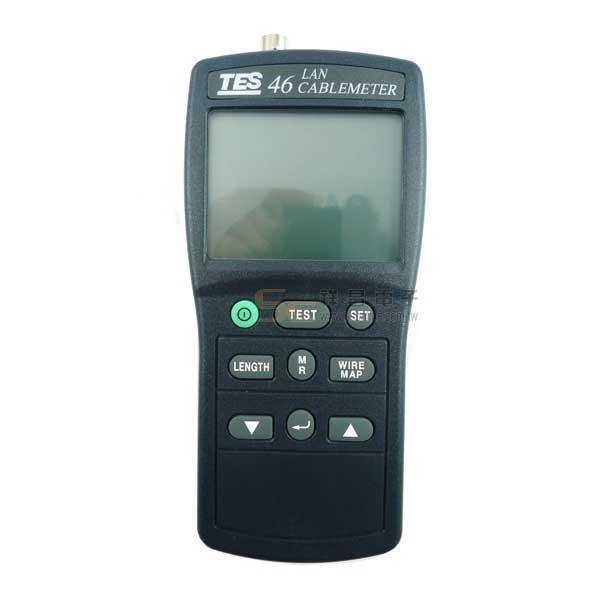 TES-46 網路纜線測試器