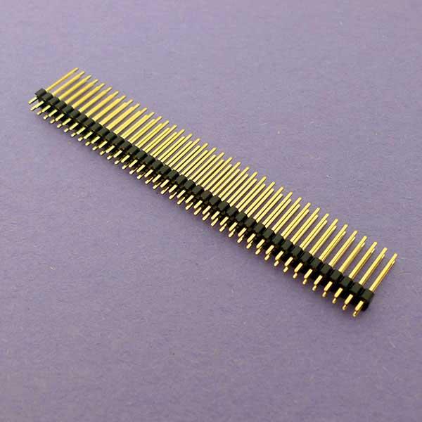 2.54 40 x 2 長排針 180°