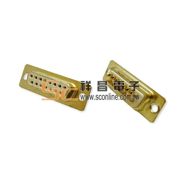 15P D型焊線母 雙排