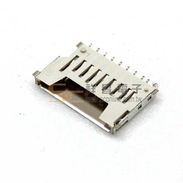 0470B 短型標準 SD Card卡槽