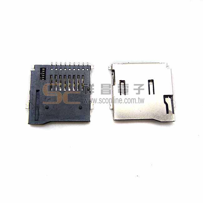 壓彈式 MicroSD卡槽 (1入)