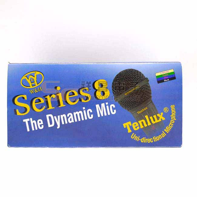 Tenlux DM-838 動圈式有線麥克風