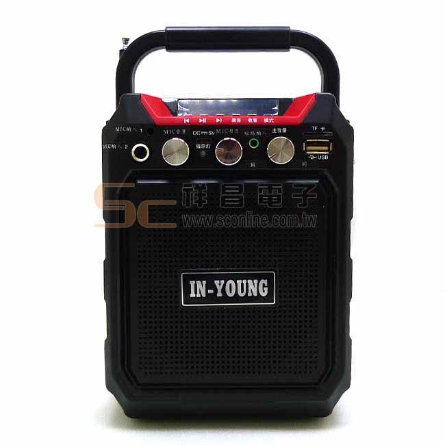 IN-YOUNG DN-15BT 無線手提教學擴音機 教學擴音機 攜帶型音箱 (附麥克風)