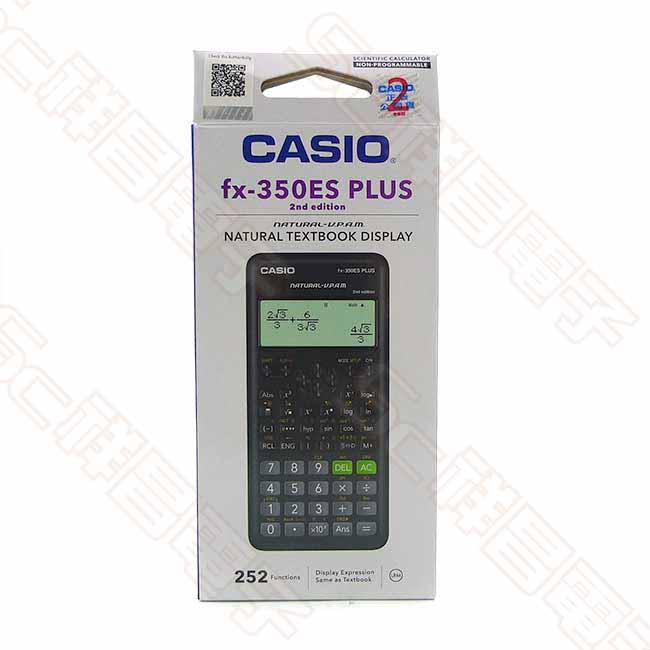 CASIO 卡西歐 fx-350ES PLUS 工程用計算機 工程計算機 (二代)