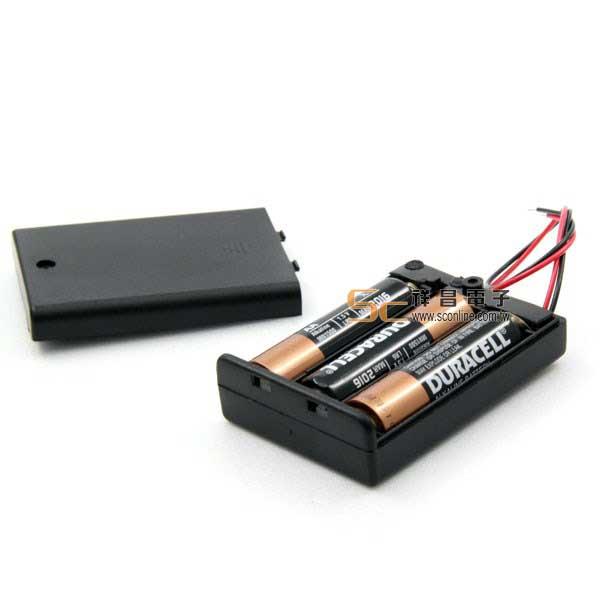 3號電池盒3只附蓋板 客訂品商品 下單前建議先詢問交期