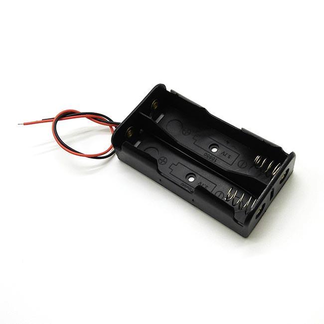 18650電池盒 x 2(並聯) (H3007)