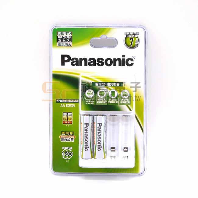 Panasonic 國際牌 鎳氫充電電池 中階 3號電池 2入充電組 (2000mAh)