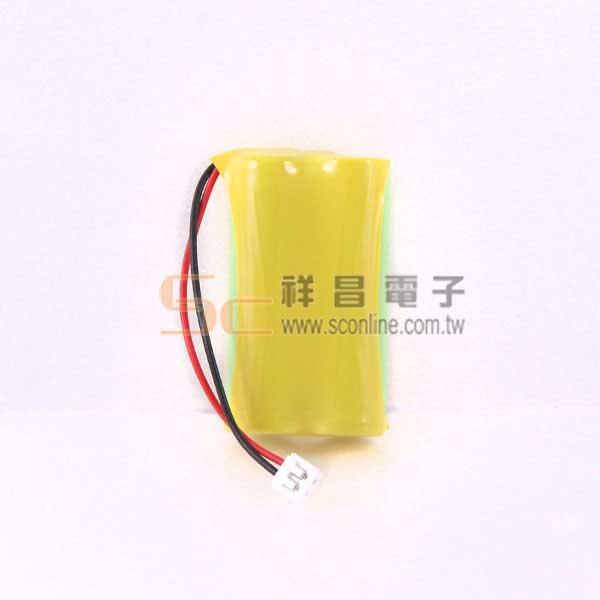 P7 2.4V 800mAh 西陵  無線電話電池