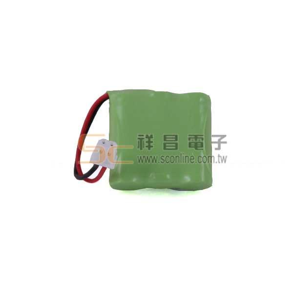 P21-1 3.6V 400mAh 三洋無線電話電池(2/3AAA)