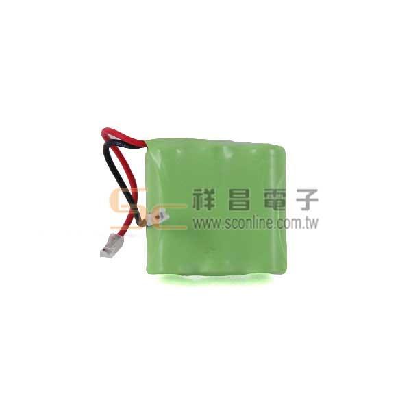 P22 3.6V 400mAh 萬用型無線電話電池(2/3AAA)