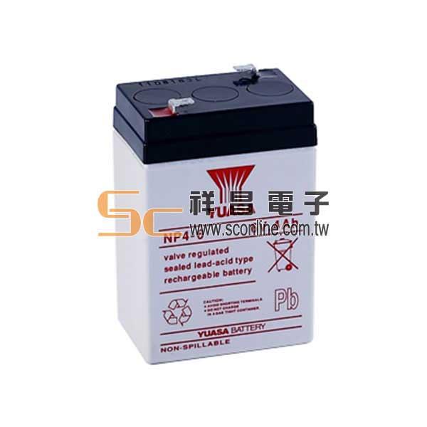 YUASA 湯淺 6V 4A 鉛酸蓄電池 (NP4-6)