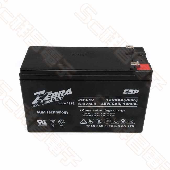ZEBRA ZB9-12 12V 9Ah鉛酸電池 電池